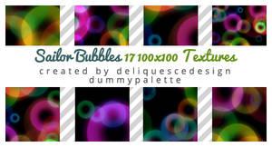 Sailor Bubbles: 17 Icon Texures
