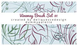 Vineway Photoshop Brushes