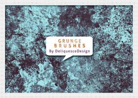Grunge Set 02 Photoshop Brushes by deliquescedesign