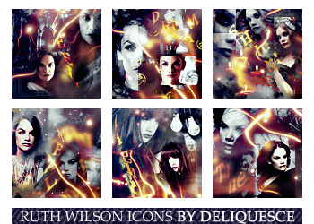 Ruth Wilson Icon Set by deliquescedesign