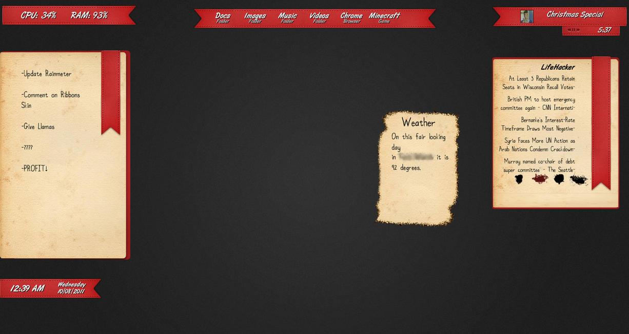 how to add new rainmeter skins