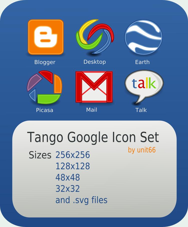 Tango Google Icon Set by Unit66