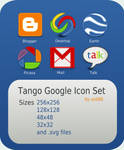Tango Google Icon Set