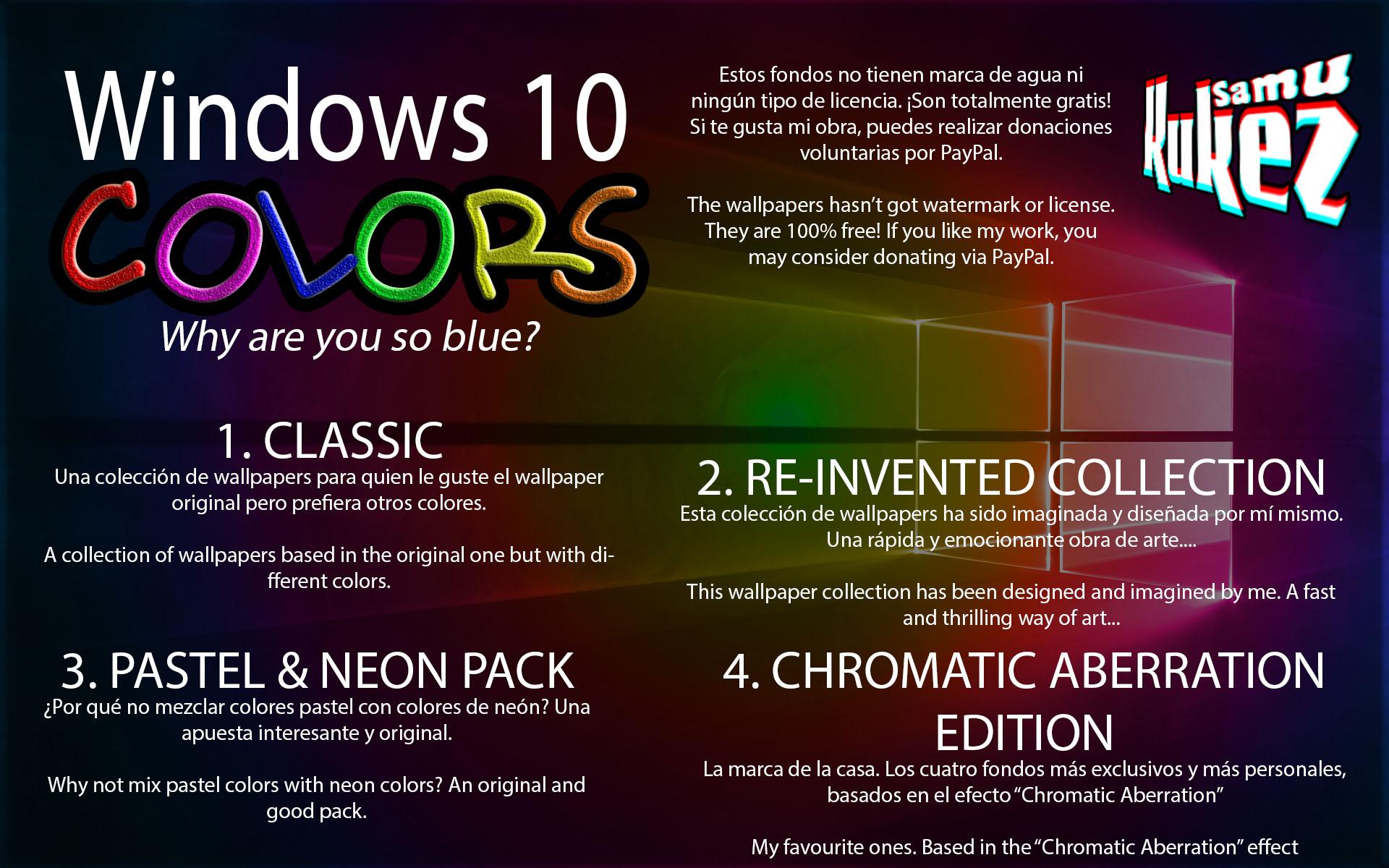 Windows 10 Wallpaper Pack: Wallpaper Pack By SamuKukez On DeviantArt
