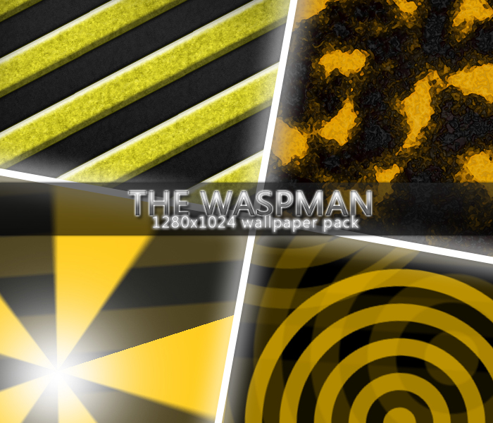THE WASPMAN - wallpaper pack