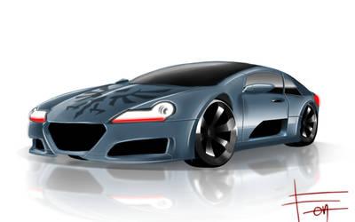 The Animation Sports Car [2] by kiruru2592