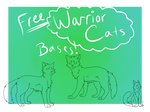 FREE Warrior Cats Linearts!