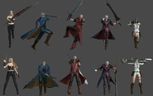 Devil May Cry Pose Pack