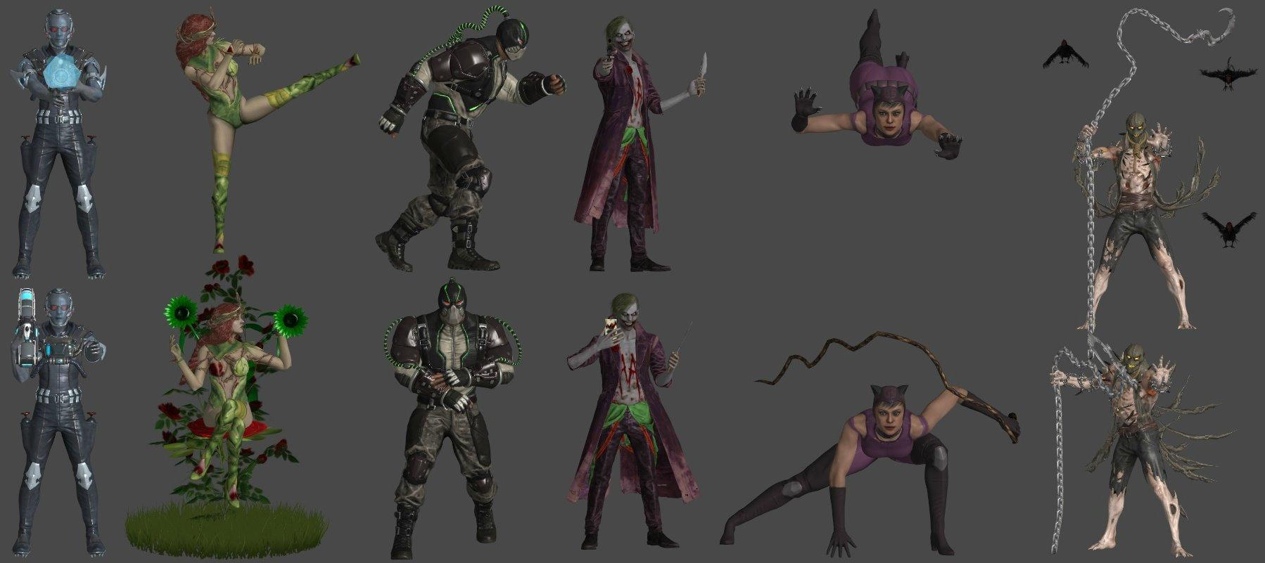 DC Villains Pose Pack 1