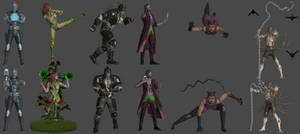 DC Villains Pose Pack 1