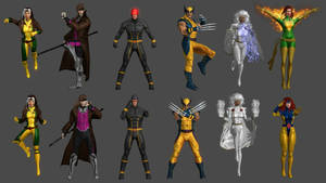 X-Men Pose Pack