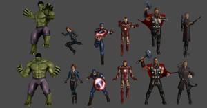 Avengers Pose Pack