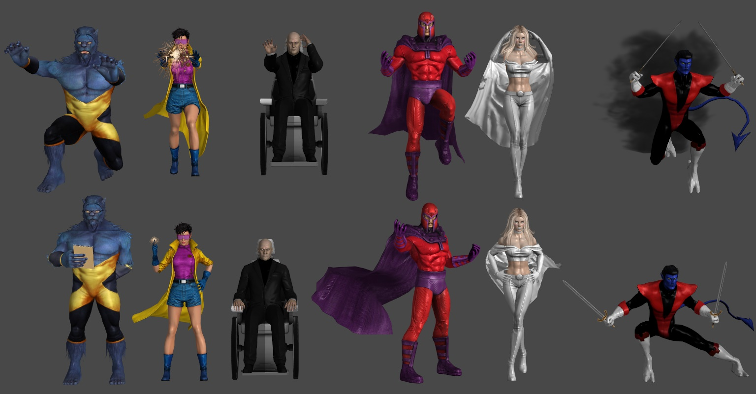 X-Men Pose Pack 2
