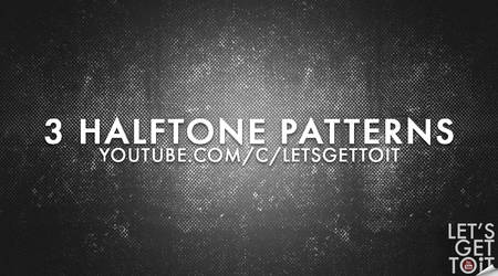 3 Halftone Patterns by FakeFebruary