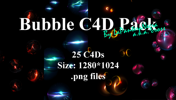 Bubble C4D Pack by LaPanteraNegra on DeviantArt
