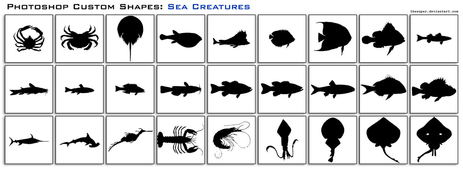 Sea Creatures by thesuper