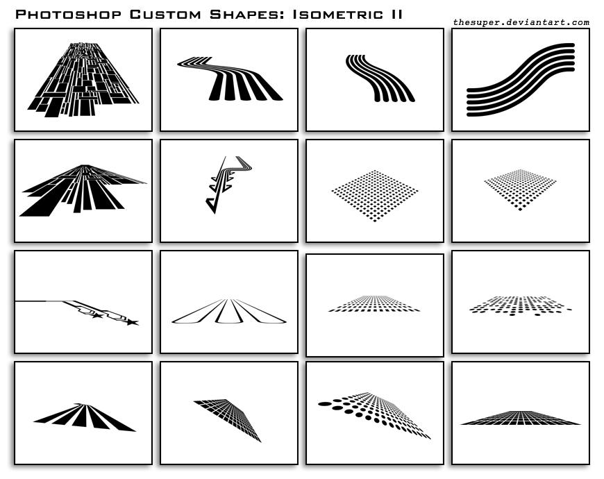 Isometric Shapes II by thesuper