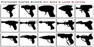 Ray Guns and Laser Blasters