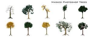 Masked Photoshop Trees