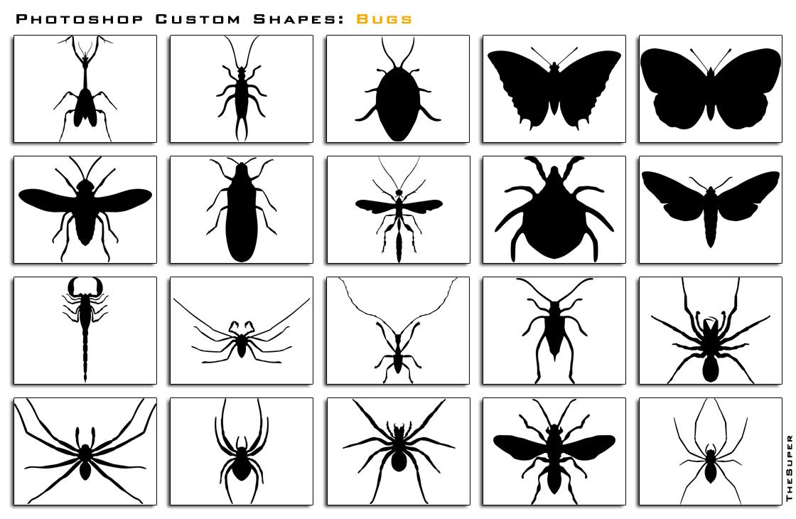 Photoshop Custom Shapes Bugs