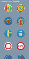 Tondo F Icon Set: Browser