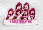 6 PNGS TIFFANY MC