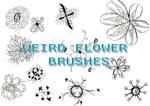 Weird Flower Brushes