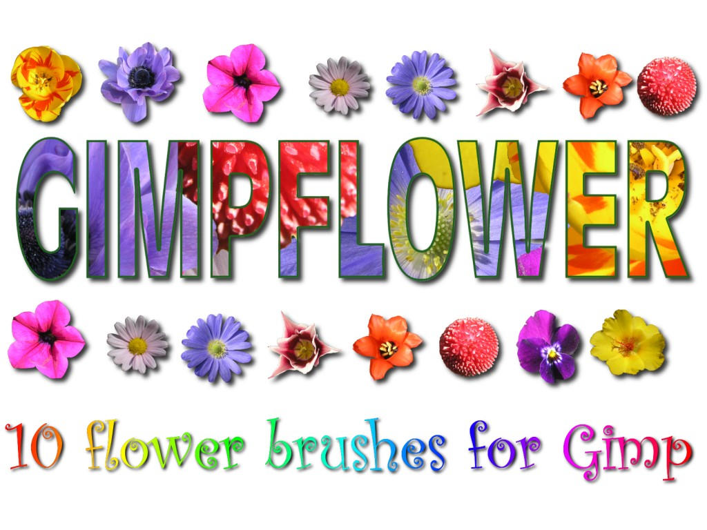 Flower Brushes Vol. 1 by wandererneuron
