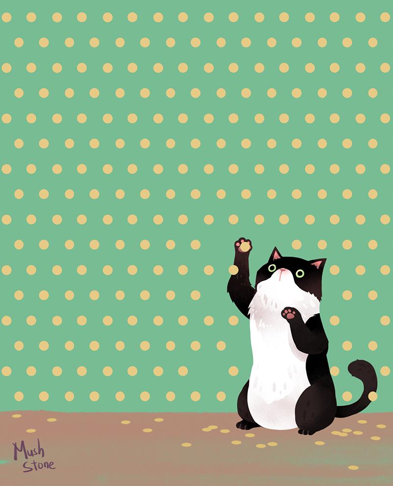 Polka dot pet : background files by Mushstone on DeviantArt