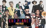 EXO's PNG PACK ~ THE CELEBRITY SCANS