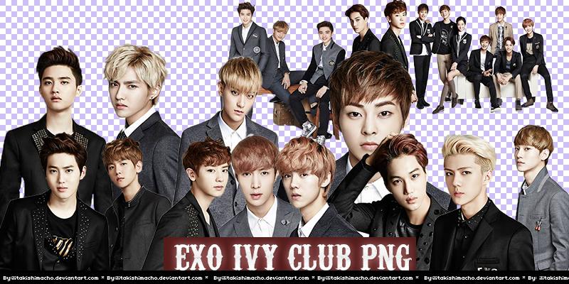 EXO IVY CLUB PNG by IliTakishimaCho