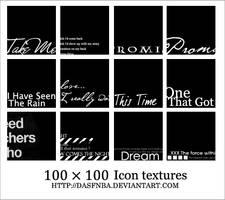 100x100 Icon textures - 4 by DasfnBa