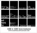 100x100 Icon textures - 4