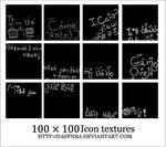 100x100 Icon Text textures - 5