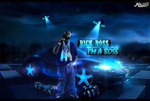Rick Ross Hip Hop Wallpaper FREE PSD TEMPLATE by KlarensM