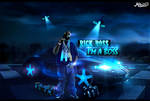 Rick Ross Hip Hop Wallpaper FREE PSD TEMPLATE
