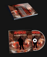 Animal Ambition Mixtape CD Cover FREE TEMPLATE by KlarensM