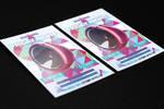 Friday Night Geometric Flyer FREE TEMPLATE by KlarensM