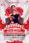Valentine's Day Flyer V2 - FREE PSD Template
