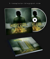 The Power Mixtape CD Cover FREE PSD Template by KlarensM