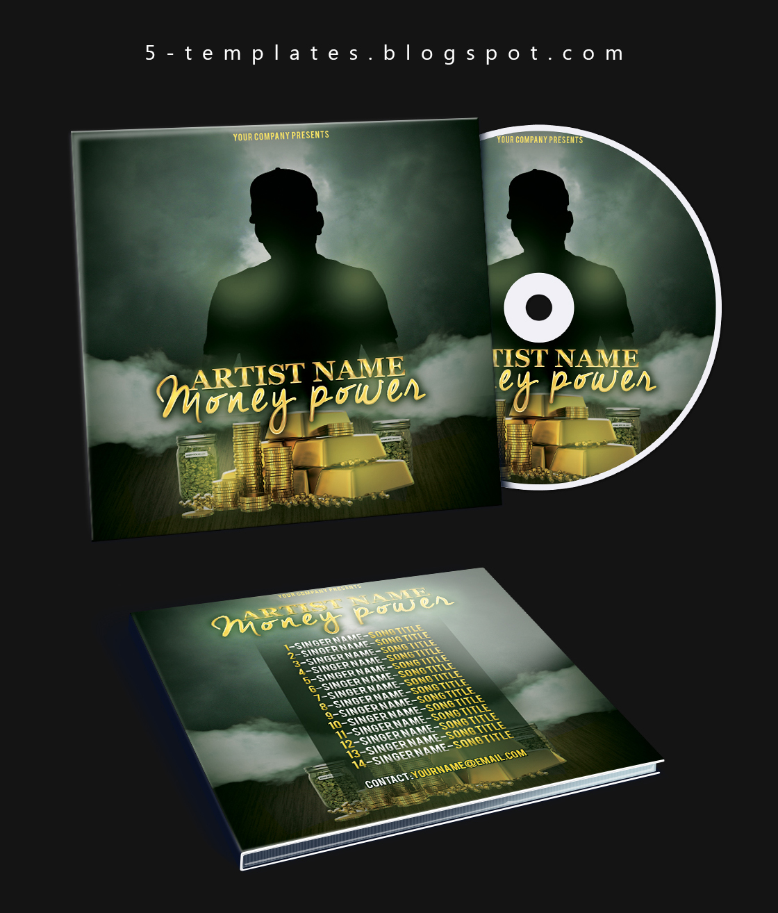 The Power Mixtape CD Cover FREE PSD Template by KlarensM on DeviantArt