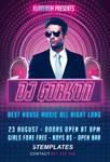 Guest DJ Flyer Free PSD Template by KlarensM