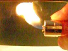 Slowmotion  lighter