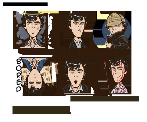 Sherlock smiles by IrvinIS
