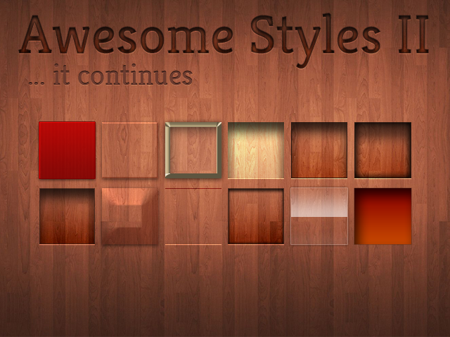 Awesome Styles (Set 2)