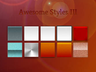 Awesome Styles (Set 3)