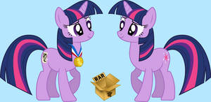 Fifth Place Twilight Sparkle Vector