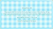 Chipmunk :: font