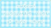 Caribeari :: font by carissaraptor