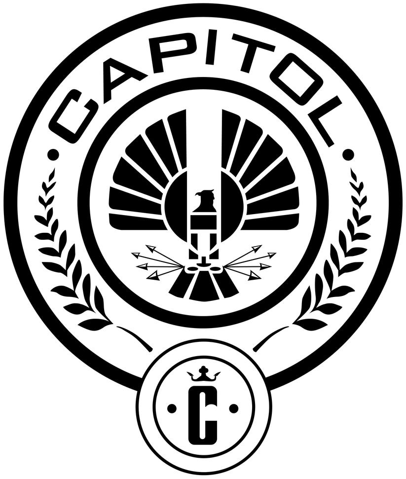 Panem Capitol Seal by trebory6 Hunger Games Capitol Seal Vector